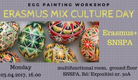 Erasmus Mix Culture Day -  luni, 3 aprilie, ora 16.00