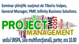 Managementul proiectelor – de la simplu la complex, 8 aprilie