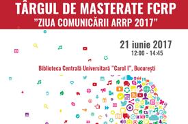 Târg de Masterate FCRP - 21 iunie