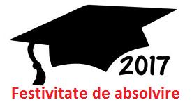 Absolvire 2017 - licenţă - 26 iunie,  ora 19.00, Sala Mare a TNB