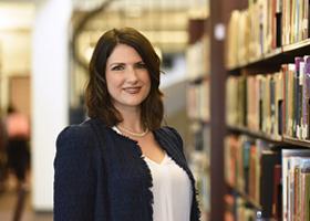 Brooke Reavey - cercetător Fulbright de la Dominican University (USA) la FCRP