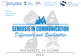 Conferința internațională Semiosis in Communication: Differences and Similarities 2018 Call for Papers