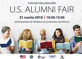 US Alumni Fair 2018 @Universitatea de Arhitectura - 21 martie a.c., 10.30:13.30