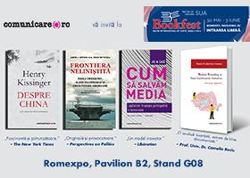 Editura Comunicare.ro la Bookfest 2018