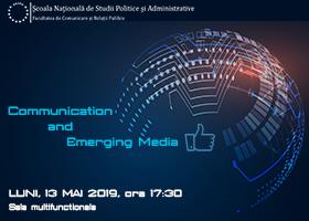 Eveniment de lansare Communication and Emerging Media | Luni, 13 mai