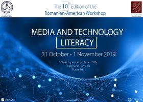 A 10-a ediție a workshop-ului româno-american  Media and Technology Literacy