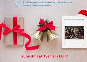 #ChristmasArtSelfie la FCRP