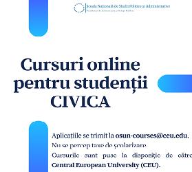 Cursuri online CEU #CIVICA